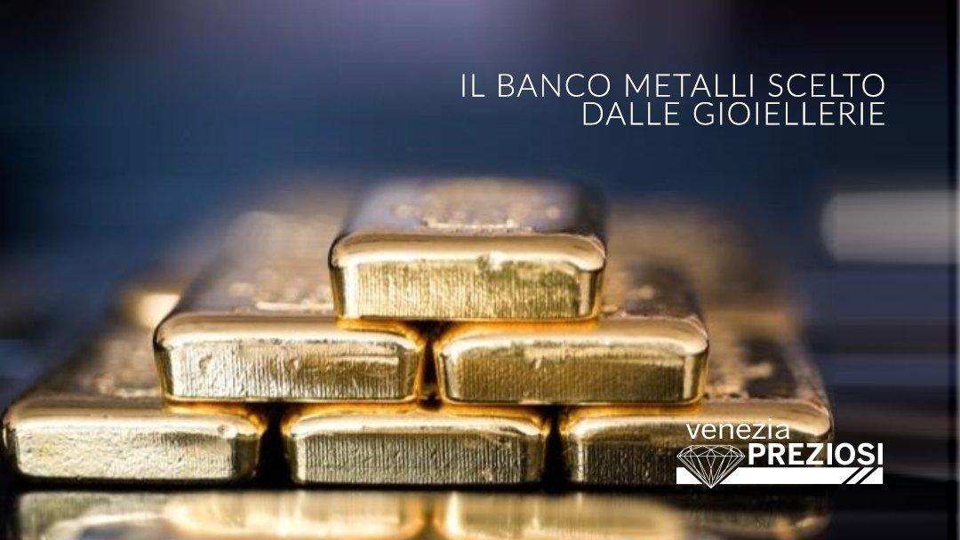 banco metalli per gioiellerie venezia preziosi