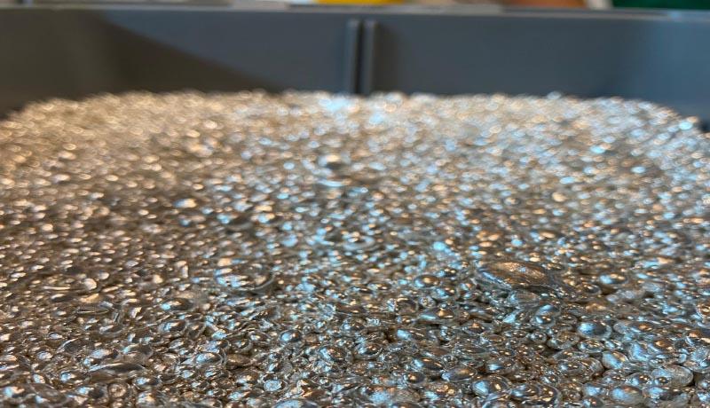 Argento puro da investimento in grani