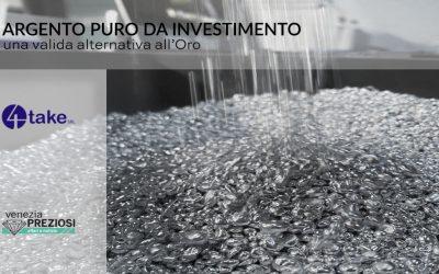 l'Argento puro come alternativa all'oro da investimento