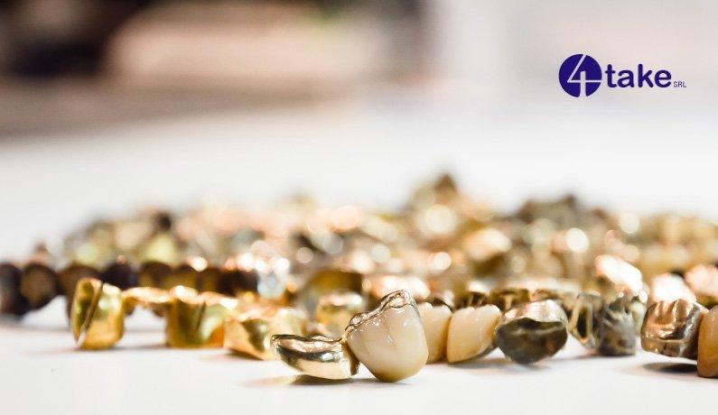 L'Oro usato per i lingotti da 4Take