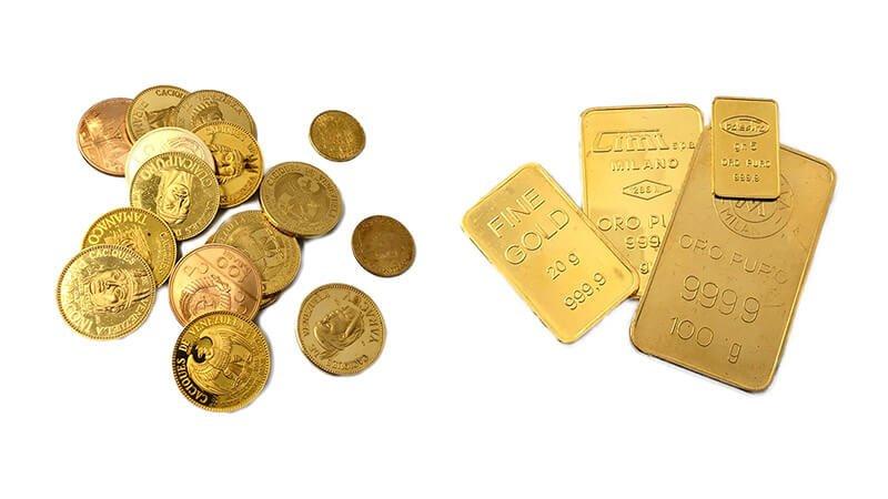 Lingotti e monete Cleor Oro - Venezia Preziosi