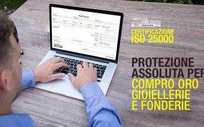 CERTIFICAZIONE ISO 25000 a tutela DI ORO E GIOIELLI